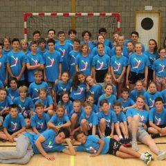 Handbal Leuven neemt deel aan VHV Handbalkamp in Genk